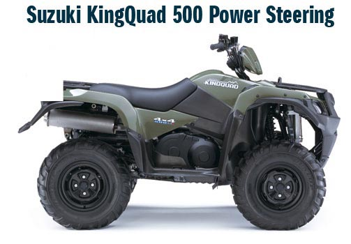 Features You Would Expect From Kingquad But Has Updates To The Chis Engine And Suspension As Well Addition Of Electric Steering