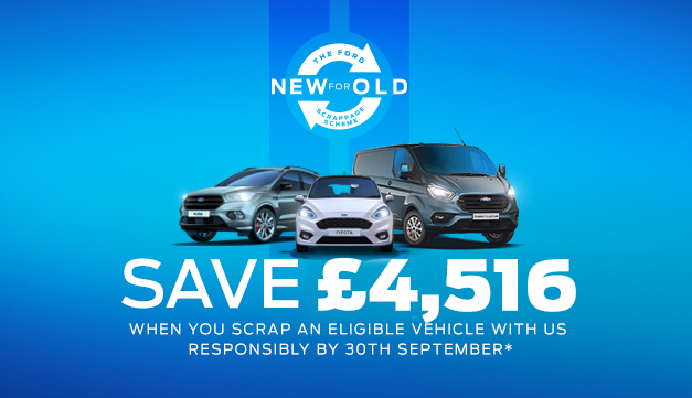 Ford Scrappage Scheme at Gwyndaf Evans Motors