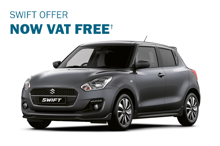Suzuki Swift Vat Free offer