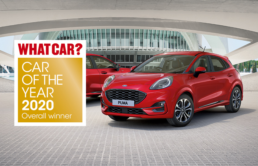 Ford Puma Car of the Year 2020