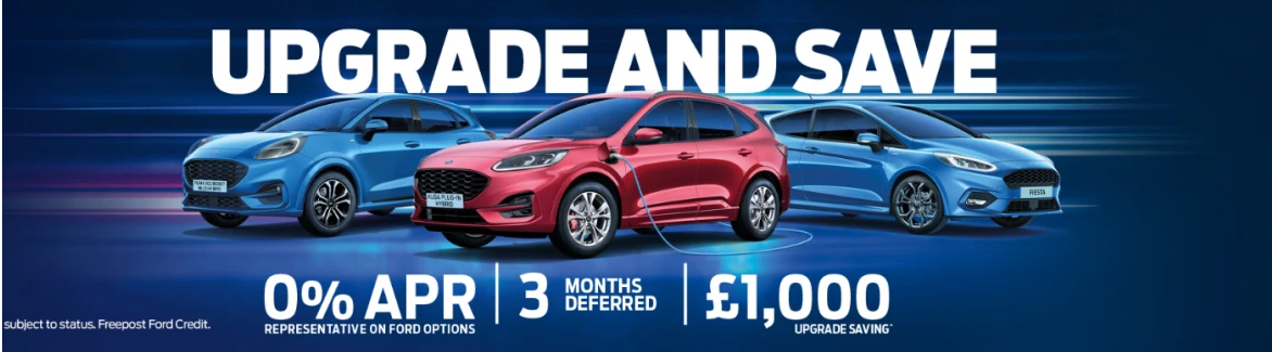 Ford Vehicle Upgrade Offers